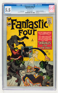 Fantastic Four #2 (Marvel, 1962) CGC FN- 5.5 Off-white pages