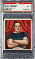 "Boxing Cards:General, 1910 T218 Champions James Jeffries ""Arms Folded"" PSA NM 7...."