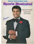 """Boxing Collectibles:Autographs, Muhammad Ali Signed """"Sports Illustrated""""...."""