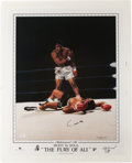 Boxing Collectibles:Autographs, Cassius Clay Signed Limited Edition Print....