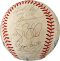 Autographs:Baseballs, 1988 National League All-Stars Team Signed Baseball. ...