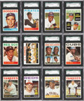 Baseball Cards:Sets, 1964 Topps Baseball High Grade Complete Set (587)....