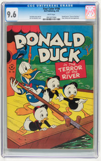 Four Color #108 Donald Duck (Dell, 1946) CGC NM+ 9.6 White pages