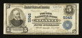 National Bank Notes:Georgia, Atlanta, GA - $5 1902 Plain Back Fr. 606 The Fourth NB Ch. # 5045. ...