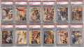 "Non-Sport Cards:Sets, 1940 R83 ""Lone Ranger"" PSA-Graded Partial Set (27) - With Four HighNumbers! ..."