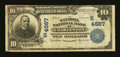 National Bank Notes:West Virginia, Charleston, WV - $10 1902 Plain Back Fr. 628 The Kanawha NB Ch. #(S)4667. ...