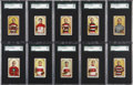 "Hockey Cards:Sets, 1911-12 C55 ""Hockey Series"" SGC-Graded Partial Set (19/45)...."