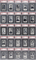 """Hockey Cards:Sets, 1912 C57 """"Hockey Series"""" Complete Set (50) - #2 on the PSA SetRegistry! ..."""