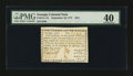 Colonial Notes:Georgia, Georgia September 10, 1777 $4/5 PMG Extremely Fine 40....