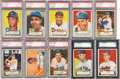 Baseball Cards:Sets, 1952 Topps Baseball Low and Middle Series Near Run (288/310). ...