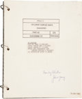 Transportation:Space Exploration, Apollo 11 Training-Used LM Lunar Surface Maps (Training)Book Directly from the Personal Collection of Astronaut J...