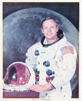 Autographs:Celebrities, Neil Armstrong and Parents Autograph Collection. Consists of thefollowing items.... (Total: 5 Items)