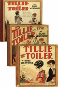 Platinum Age (1897-1937):Miscellaneous, Tillie The Toiler Group (Cupples & Leon, 1925-31) Condition: Average GD/VG....