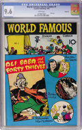 Golden Age (1938-1955):Miscellaneous, World Famous Stories #1 Vancouver pedigree (Croyden, 1945) CGC NM+ 9.6 White pages....