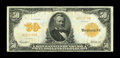 Large Size:Gold Certificates, Fr. 1199 $50 1913 Gold Certificate Very Fine....
