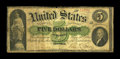 Large Size:Demand Notes, Fr. 1 $5 1861 Demand Note Good-Very Good....