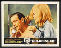 """Movie Posters:James Bond, Goldfinger (United Artists, 1964). Lobby Card (11"""" X 14""""). ..."""