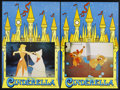 "Movie Posters:Animated, Cinderella (Buena Vista, R-1960s). British Photobustas (4) (20"" X30""). ... (Total: 4 Item)"