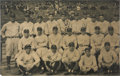 Autographs:Photos, 1927 Babe Ruth Signed New York Yankees Team Photograph....
