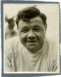 Autographs:Photos, Circa 1934 Babe Ruth Signed Photograph....