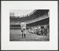 "Baseball Collectibles:Photos, Nat Fein Signed ""The Babe Bows Out"" Large Photograph...."