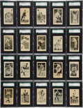 Baseball Cards:Sets, 1927 E126 American Caramel Complete Set (60) - #2 on the SGC Set Registry!...