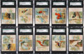 """Non-Sport Cards:Sets, 1889 N38 """"Birds of the Tropics"""" Near Set (48/50) - #1 on the SGC Set Registry! ..."""