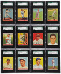 Baseball Cards:Sets, 1933 Goudey Baseball SGC-Graded Partial Set (107) - With GehrigPlus Over 30 HoFers! ...