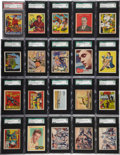 Non-Sport Cards:Lots, 1910's-1950's Non-Sports High End SGC-Graded Collection (163)....