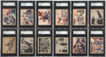 "Non-Sport Cards:Sets, 1939 R165 Gum Inc. ""War News Pictures"" Near Set (129/144)...."