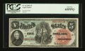 Large Size:Legal Tender Notes, Fr. 64 $5 1869 Legal Tender PCGS Gem New 65PPQ....