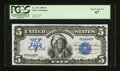 Large Size:Silver Certificates, Fr. 271 $5 1899 Silver Certificate PCGS Superb Gem New 67....