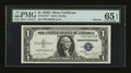 Small Size:Silver Certificates, Fr. 1613N* $1 1935D Silver Certificate. PMG Gem Uncirculated 65 EPQ.. ...