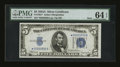 Small Size:Silver Certificates, Fr. 1651* $5 1934A Mule Silver Certificate. PMG Choice Uncirculated 64 EPQ.. ...