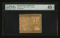 Colonial Notes:Pennsylvania, Pennsylvania May 1, 1760 £5 PMG Choice Extremely Fine 45 EPQ....