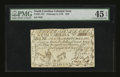Colonial Notes:South Carolina, South Carolina February 8, 1779 $50 PMG Choice Extremely Fine 45 EPQ....