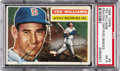 Baseball Cards:Singles (1950-1959), 1956 Topps Ted Williams #5 PSA EX 5 Signed Card....