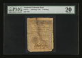 Colonial Notes:Vermont, Vermont February 1781 1s PMG Very Fine 20....