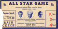 Autographs:Others, 1936 All-Star Game Ticket Stub Signed by Grover ClevelandAlexander....
