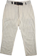 Baseball Collectibles:Uniforms, 1968 Mickey Mantle Game Worn Pants....