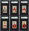 "Hockey Cards:Lots, 1911-12 C55 ""Hockey Series"" SGC 60 EX 5 Collection (6). ..."
