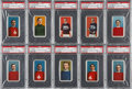 Hockey Cards:Lots, 1910 C59 Lacrosse PSA-Graded Collection (10) - With Jos. Malone!...