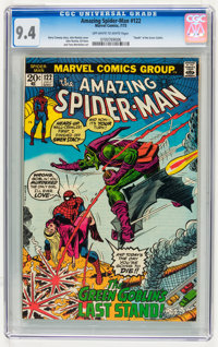 The Amazing Spider-Man #122 (Marvel, 1973) CGC NM 9.4 Off-white to white pages