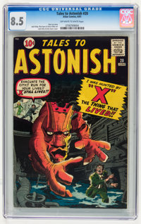 Tales to Astonish #20 (Marvel, 1961) CGC VF+ 8.5 Off-white to white pages