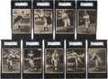 Baseball Cards:Lots, 1929 R316 Kashin Publications SGC-Graded Collection (9) - MostlyHoFers....