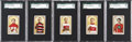 "Hockey Cards:Lots, 1911-12 C55 ""Hockey Series"" SGC 60 EX 5 or 70 EX+ 5.5 Collection(5). ..."
