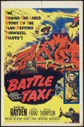 "Movie Posters:War, Battle Taxi (United Artists, 1955). One Sheet (27"" X 41""). War....."