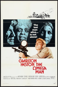 """The Omega Man (Warner Brothers, 1971). One Sheet (27"""" X 41""""). Science Fiction"""