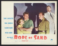 "Movie Posters:Adventure, Rope of Sand (Paramount, 1949). Lobby Cards (2) (11"" X 14"").Adventure.. ... (Total: 2 Items)"
