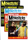 Magazines:Horror, Famous Monsters of Filmland #21-24 Group (Warren, 1963).... (Total: 4 Comic Books)